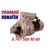 Стартер Komatsu WB93,  Yanmar 129953-77010