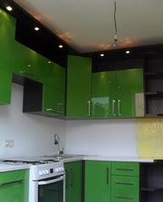 Кухня из акрила на заказ в Алматы