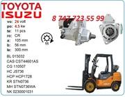 Стартер на погрузчик Toyota 028000-5300