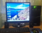 Компьютер очень шустрый Игровой и для работ i7-3770 4ядра 8потоков. в комплекте.