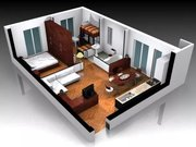 3D Визуализация интерьера и дизайн интерьера,  бутика,  магазина,  дома