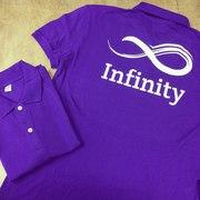 Поло с логотипом. Печать на футболках поло любых логотипов.