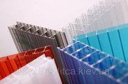 Сотовый поликарбонат - цвета в ассортименте
