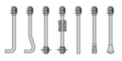Болты анкерные фундаментные тип 1.1 ГОСТ 24379.80