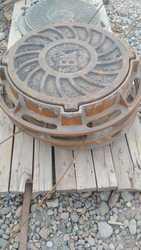 Люки чугунные с шарниром и с замком Тип С ГОСТ 3634-99