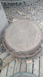 Люки чугунные Казахтелеком с шарниром и с замком Тип Т ГОСТ 8591-76