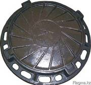 Люк канализационный чугунный ,  круглый Тип (Л)
