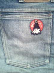 Продам джинсы Винтаж Wild Cat 1982 года бу 28 размер