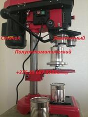 Укупорка банок d 72.8mm h 84-95mm,  Станок