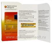 Microsoft Office 2010 Профессиональный, Russian, CK ( Only Kazakhstan )