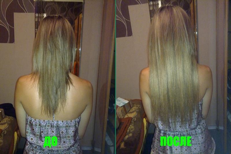 Наращивание волос вшиванием